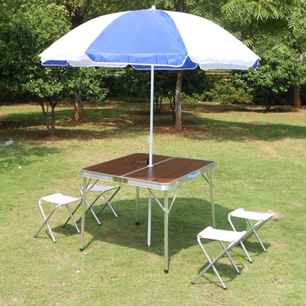 Latest Buy Free shipping outdoor aluminum split portable folding tables and chairs folding table advertising table picnic table barbecue tables and chairs mahjong Trending - Beautiful outdoor camping table Pictures