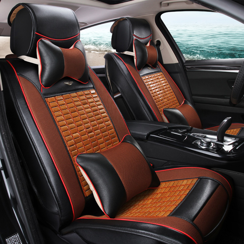 Buy Gm Luxury Car Seat Cushion Hongguang S 5 Models Common Summer Bamboo Cover Sun In Cheap Price On Malibaba