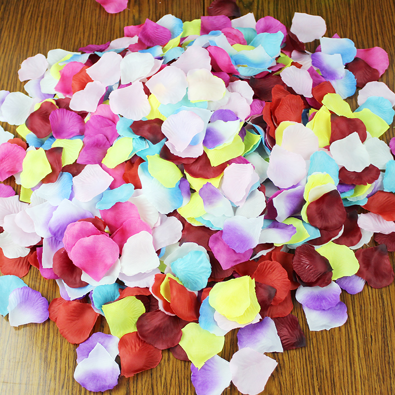 Buy Greek Cow Wedding Supplies Wedding Ceremony Arranged Marriage Room  Decoration Scene Simulation Fake Rose Petals Hand Throwing Petals In Cheap  Price On ...