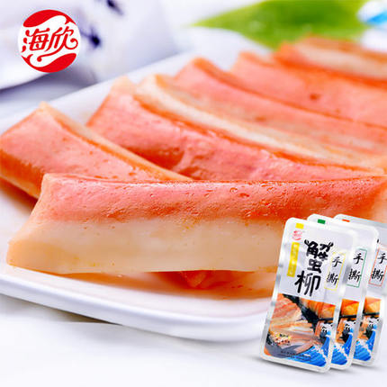 Buy Haixin is pulled 320g grams ready to eat crab sticks