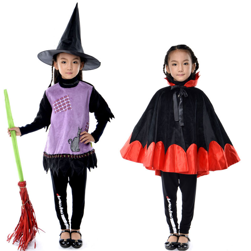 Buy Happy party halloween devil costume cloak cloak cos little witch