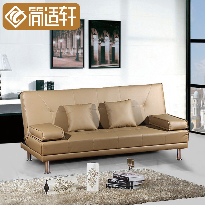 Jane Suitable Xuan Small Apartment Single Sofa Bed 1 8 M Folding Pu Leather Jh350 In Price On Alibaba