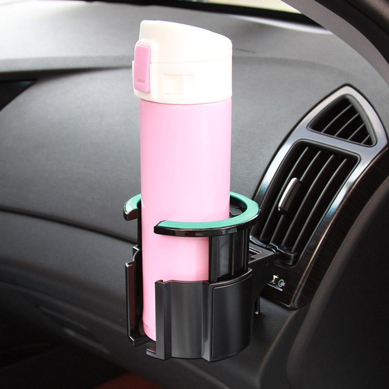 YAN^HUI^GANG Ashtray Car Double Cup Holder Car Ashtray Bracket Rack