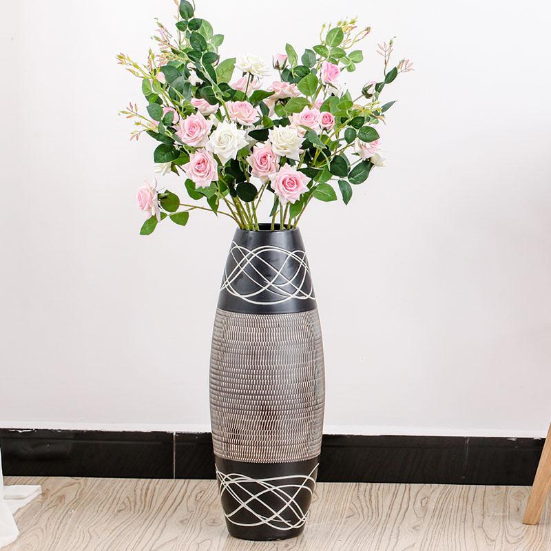 Buy Jingdezhen modern minimalist home accessories living room floor vase flower flower arrangement device set decoration art decoration in Cheap Price on ... & Buy Jingdezhen modern minimalist home accessories living room floor ...