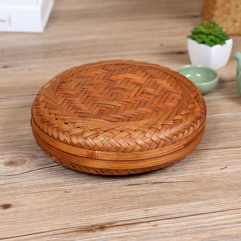 Buy Kens Bamboo Basket Storage Puu0026#39;er Tea Cake Box Tea Box Tea Box Tea  Tea With Zero Special Storage Box In Cheap Price On M.alibaba.com