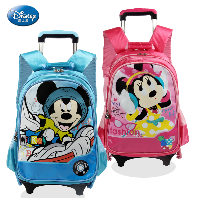 Korean version of the high school students trolley bags boys and girls  grades students detachable backpack 203e87dc9d
