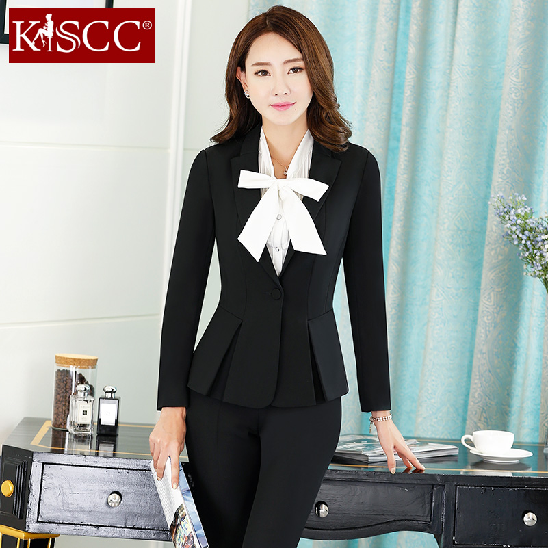 49996feaadf Buy Korean women wear suits ladies dress suit suit suit long sleeve autumn  long pants slim was thin overalls in Cheap Price on m.alibaba.com