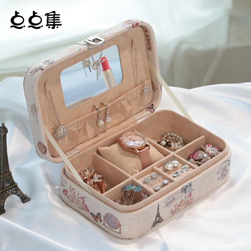 Buy Little Bit Sets European Princess Jewelry Box Leather Jewelry Cassette Lock Jewelry Box Jewelry Storage Box Birthday Gift In Cheap Price On M Alibaba Com