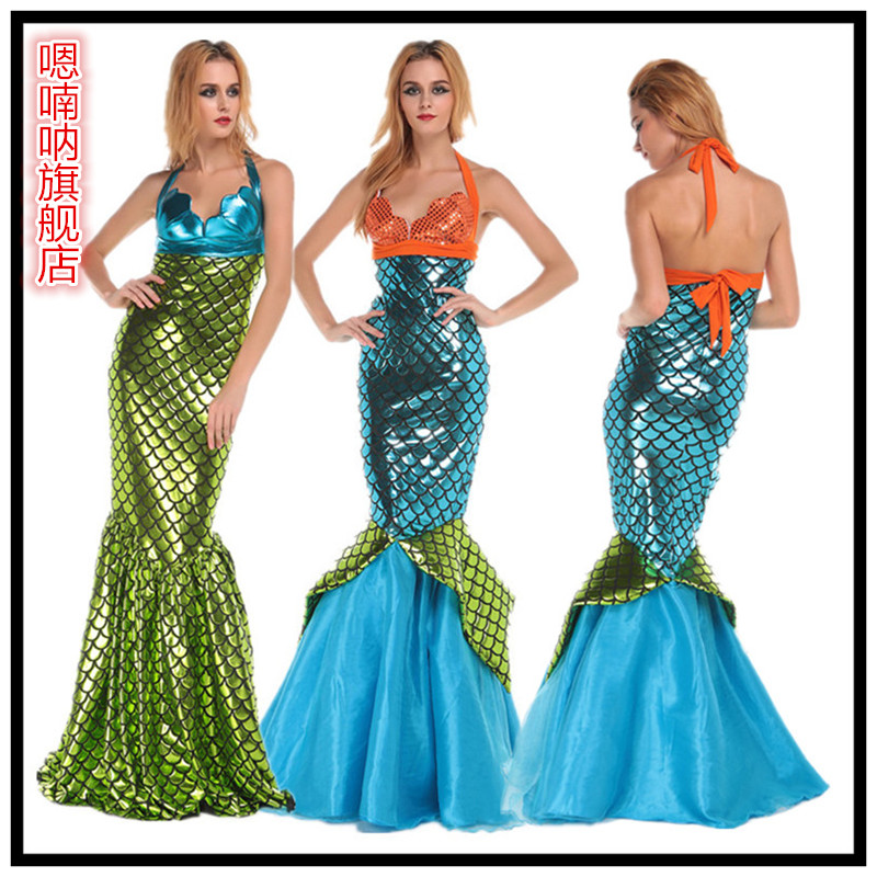 Buy Mermaid princess mermaid halloween costume cosplay clothes adult clothing ds nightclub singer costumes in Cheap Price on m.alibaba.com  sc 1 st  Alibaba & Buy Mermaid princess mermaid halloween costume cosplay clothes adult ...