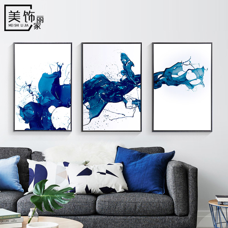 Buy Modern abstract decorative painting the living room wall ...