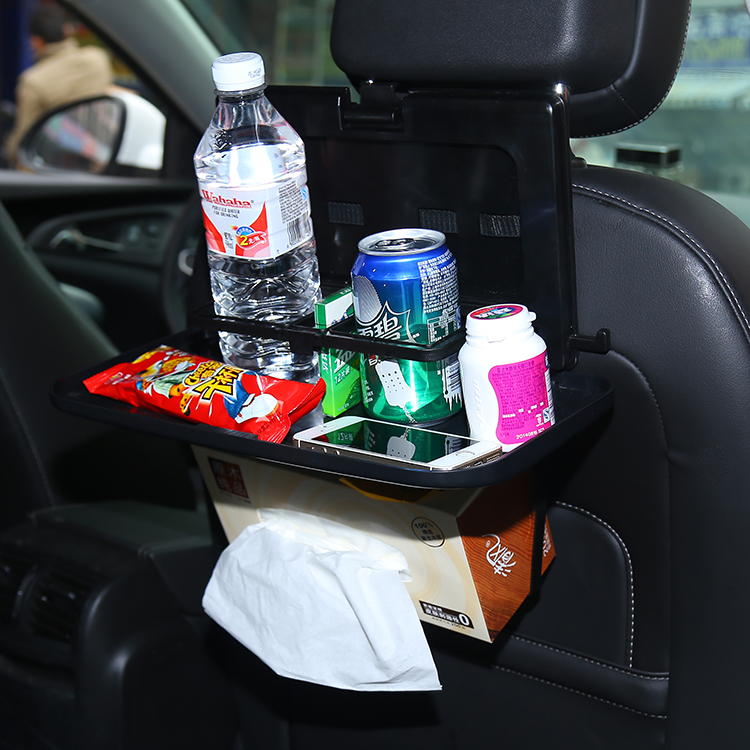 Multifunction Car Back Dining Table Watercups Folding Tray Drink Holder Shelf In Price On M Alibaba