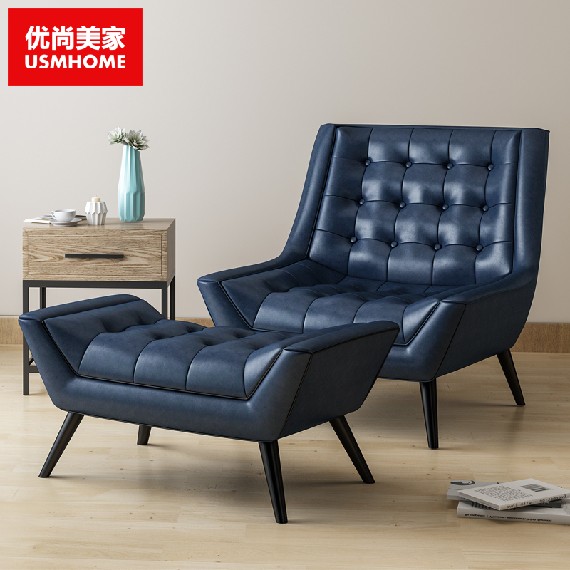 Buy Naomi excellent single leather sofa recliner sofa ...