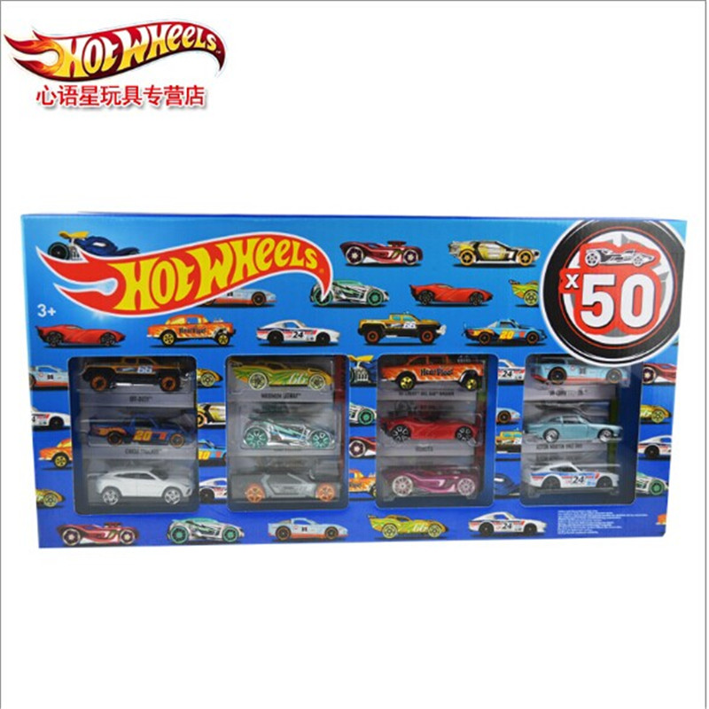 Buy New Authentic Hot Wheels Hot Little Sports Car 50 Car Pack Gift