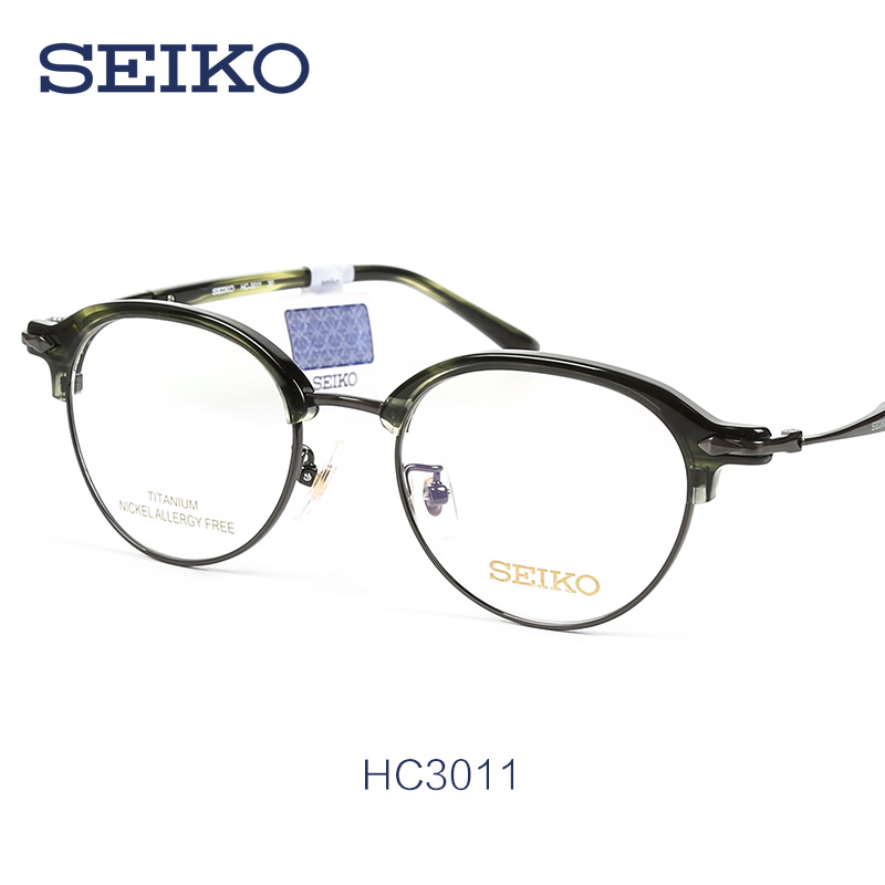 967aa4477a Buy New retro eyeglass frames seiko titanium ultralight titanium full frame  glasses frame glasses frame myopia frames HC3011 in Cheap Price on Alibaba .com