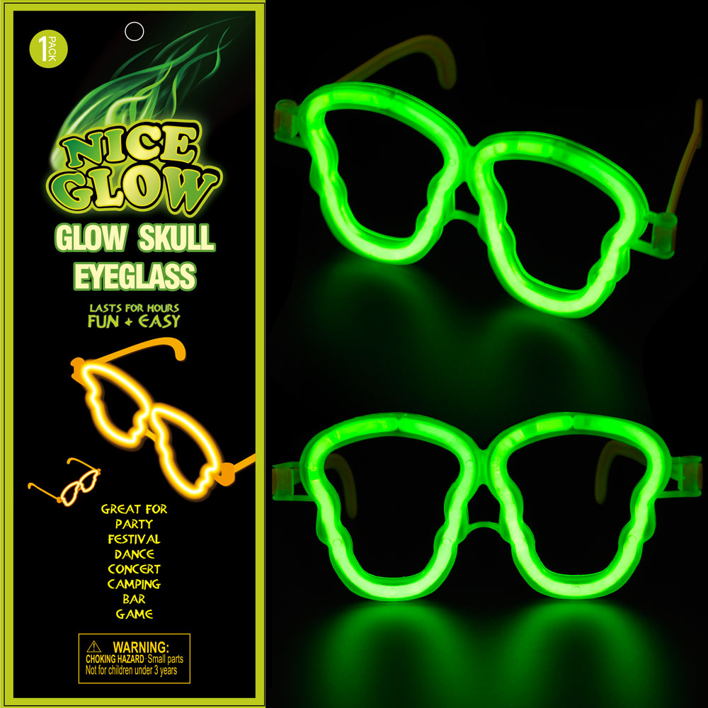 Buy Niceglow Hardcover Version Of The Disposable Glasses Skull