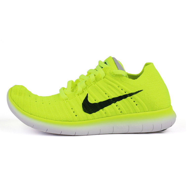 wholesale dealer b6087 c16c6 Nike nike free flyknit Ω×rn↠rn oc female fluorescent color fly line  running shoes 842546-700