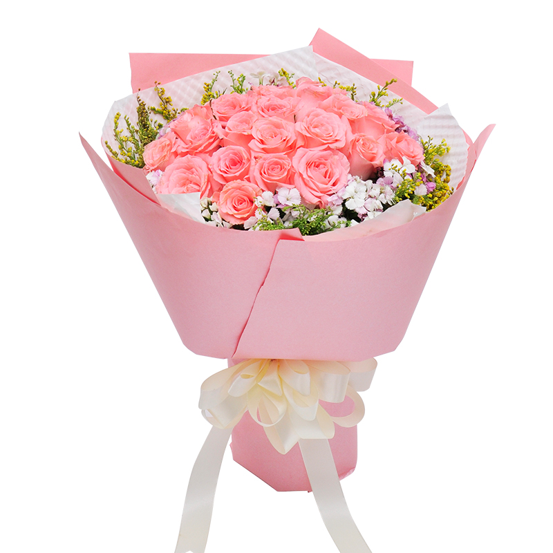 Buy Panjin City Flower Delivery To Send His Girlfriend Confession Birthday Gift Bouquet Of Red Roses Nationwide Florist Home In Cheap Price On