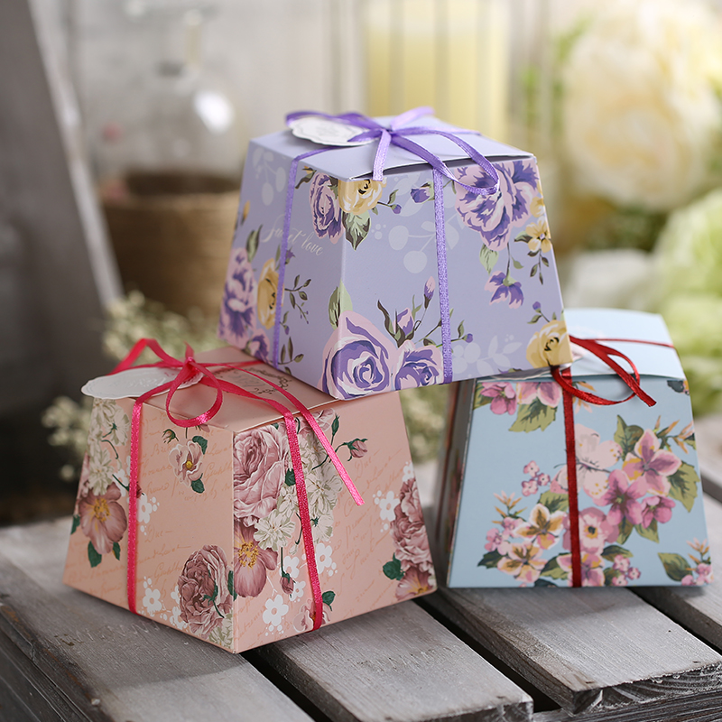 Buy European Classic Large Candy Bags Wedding Candy Box Creative