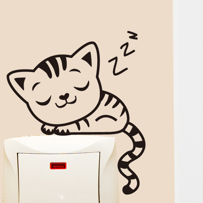 buy power switch stickers wall stickers european creative home