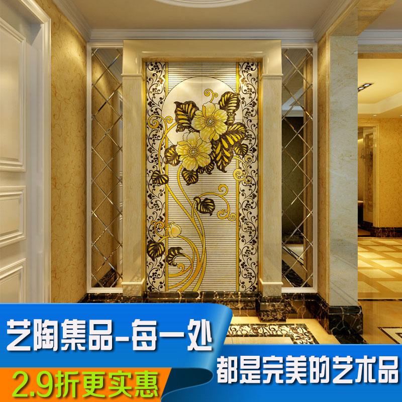 Buy [Product] art ceramic tile backdrop living room tv background ...