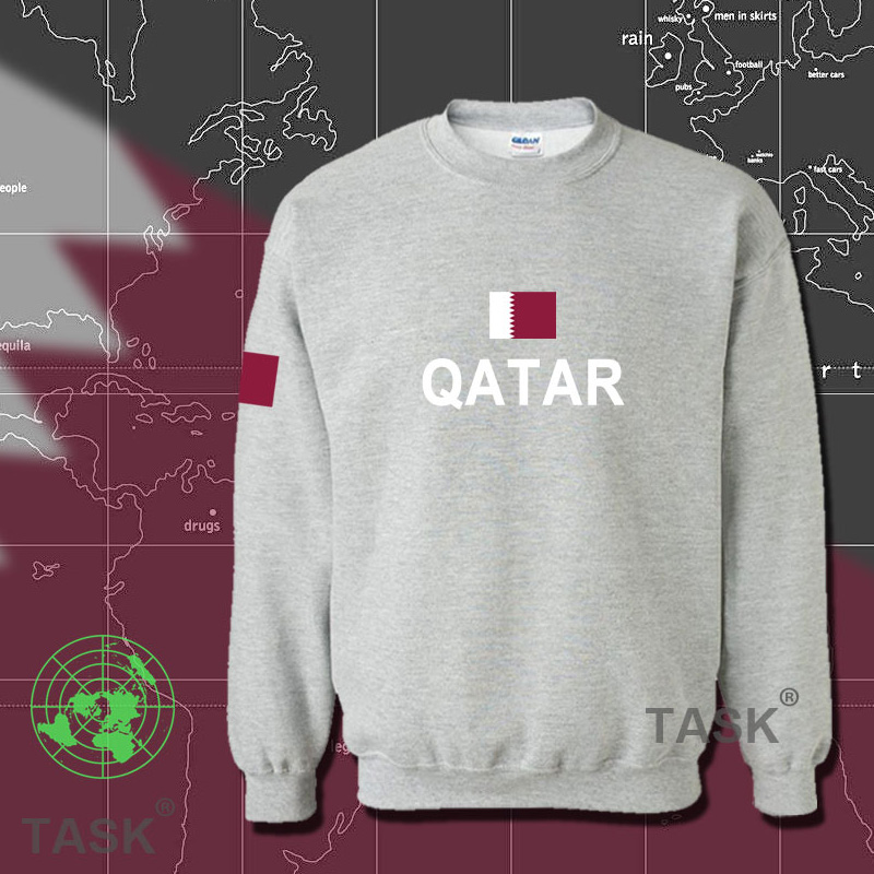 e7cb41137 Buy Qatar qatar national team jersey football clothes fall and winter  influx of men hedging sweater plus sweaters games qat in Cheap Price on  m.alibaba.com