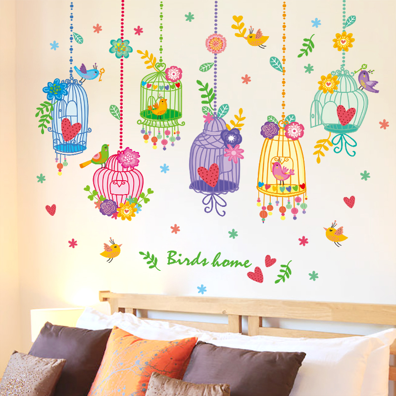 Buy Removable wall stickers environmental children's ...
