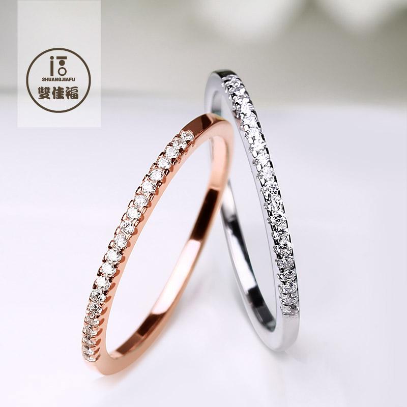 Buy S925 sterling silver rings female tail ring finger ring korean ...