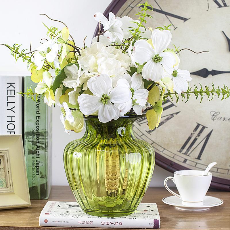 . Buy Set the table vase floral ornaments european artificial flowers