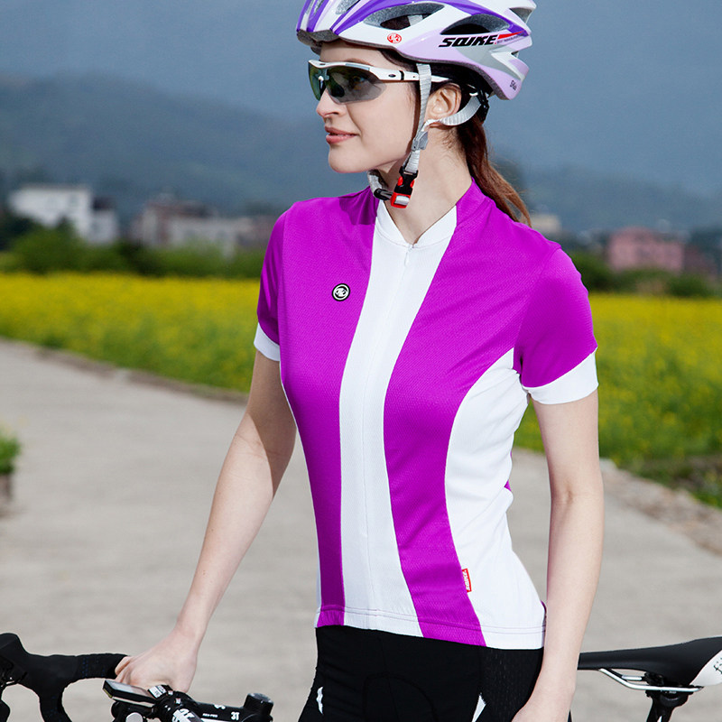 7b53459b529 Sk genuine female spring and summer clothes short sleeve cycling jersey  cycling jersey short sleeve t-shirt jersey free shipping