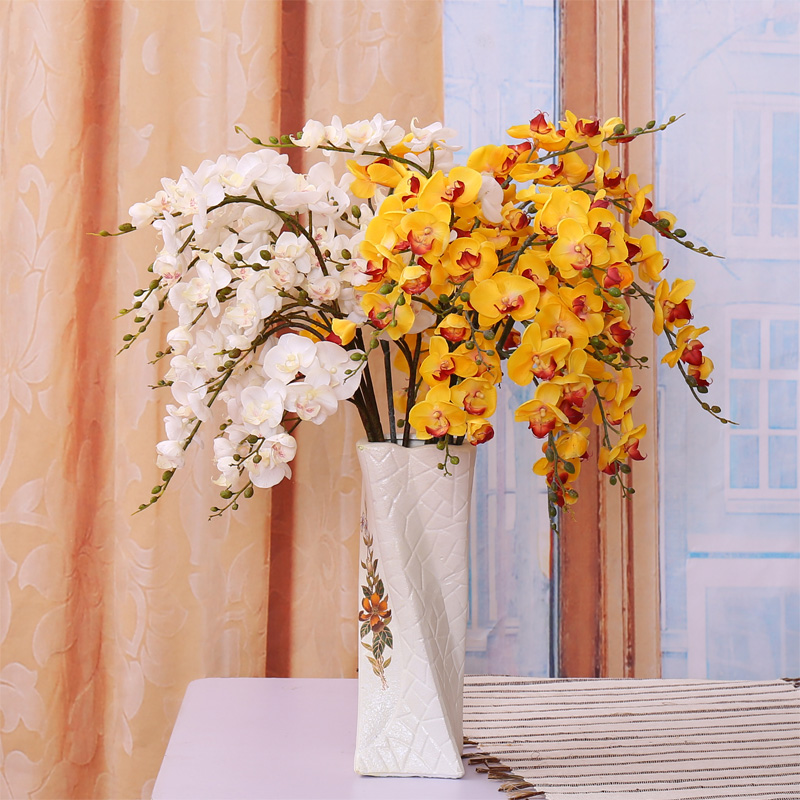 Buy small pu single branch phalaenopsis flower artificial flowers buy small pu single branch phalaenopsis flower artificial flowers artificial flowers flower arrangement artificial flowers silk flower artificial flower mightylinksfo