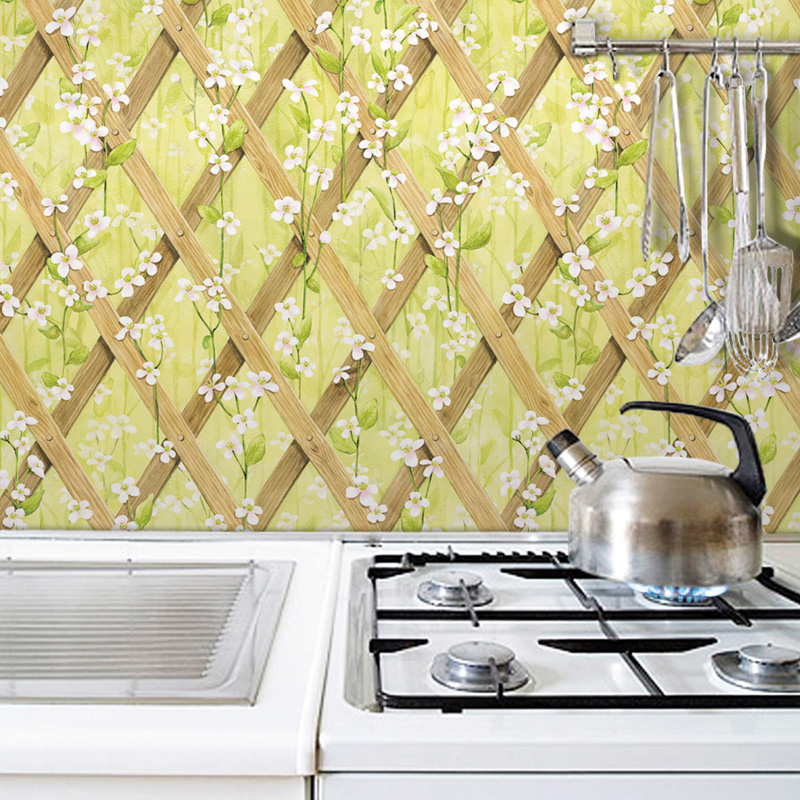 Buy South Korean Oil Sticker Kitchen Aluminum Foil Brick Wallpaper