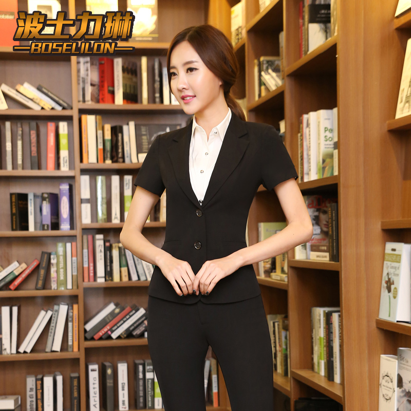 Buy Spring And Summer New Women 39 S Wear Suits Slim Business Suits