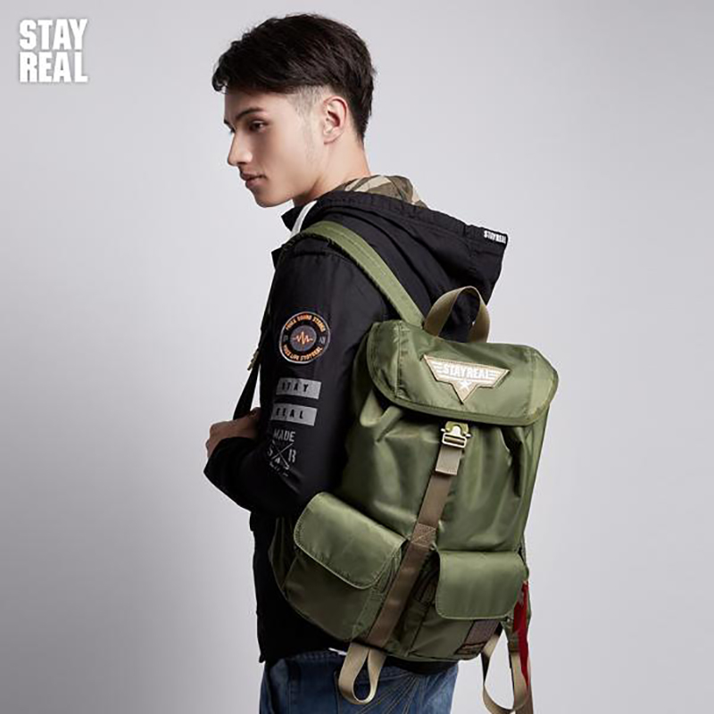 23fcc995e094 Buy Stayreal defend soldiers bag backpack after backpack-black 〠green  cover after in Cheap Price on Alibaba.com