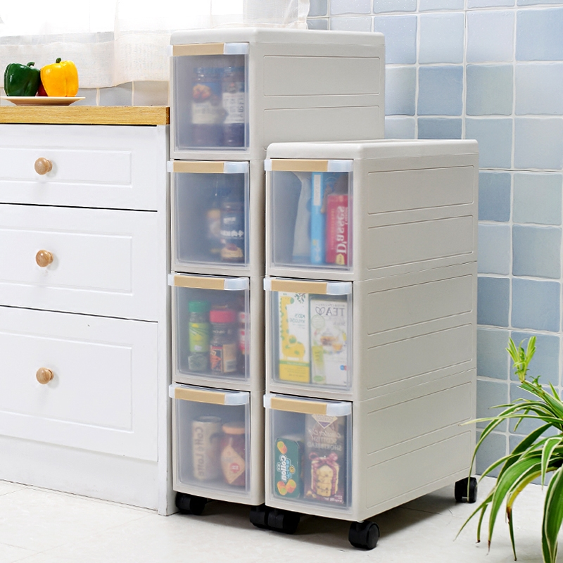 Buy Storage Crevice Crevice Storage Cabinets Lockers Baby Wardrobe Cabinet Drawer  Storage Cabinets Debris Cabinet Finishing Narrow Cabinet In Cheap Price On  ...