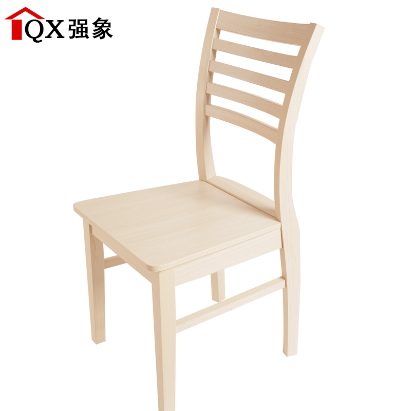 Strong Like Furniture Armchair Chinese Modern Minimalist Dining Chair  Dining Chair Wood Stool Chair Chairs Home Specials 818