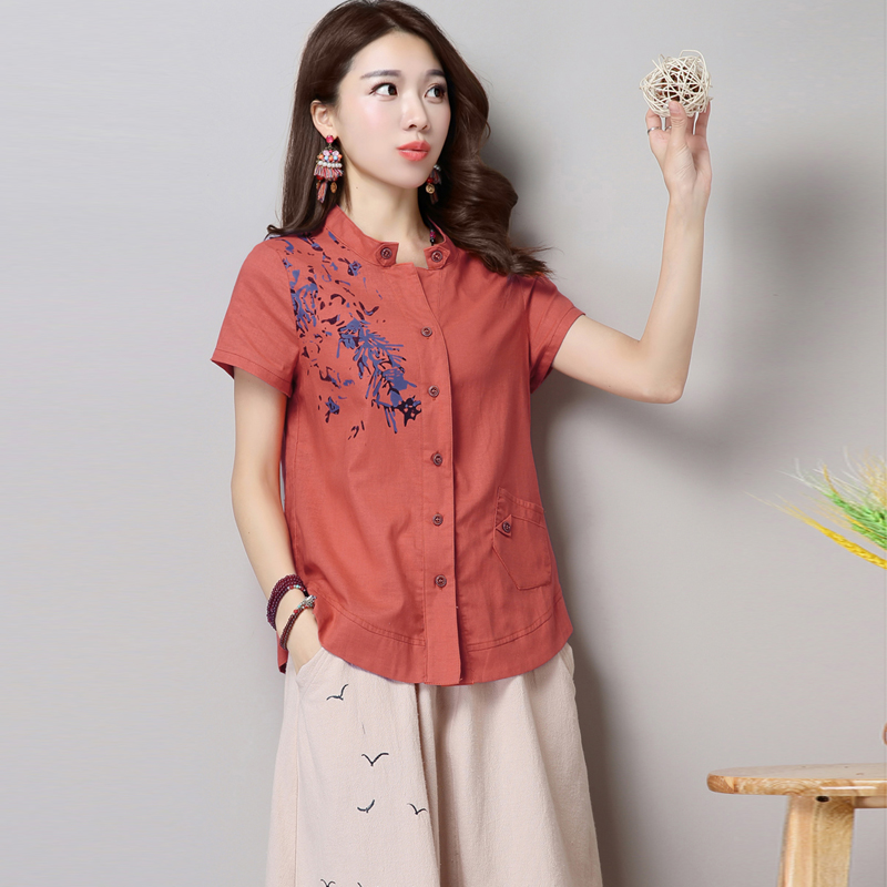 6fa0f67c83bb Buy Summer large size women loose cotton short sleeve shirt long sleeve t-shirt  shirt skirt piece fitted skirts jumpsuit LY-01 in Cheap Price on m.alibaba.  ...
