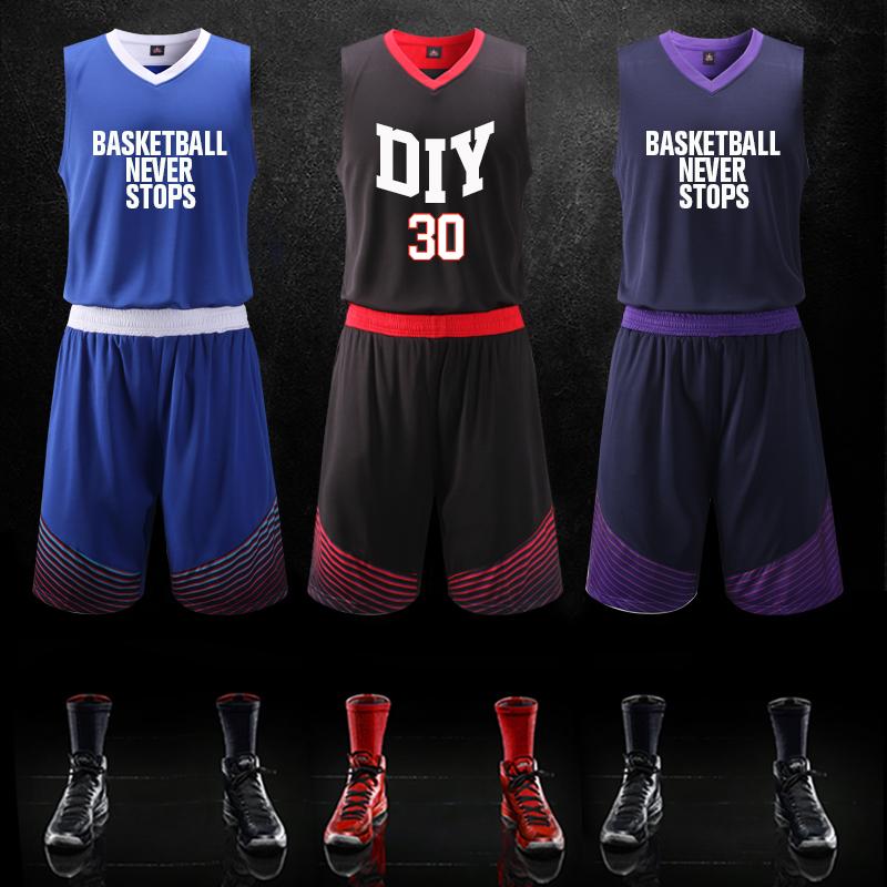 Buy Team Usa Basketball Uniforms Male Custom Professional Game Of