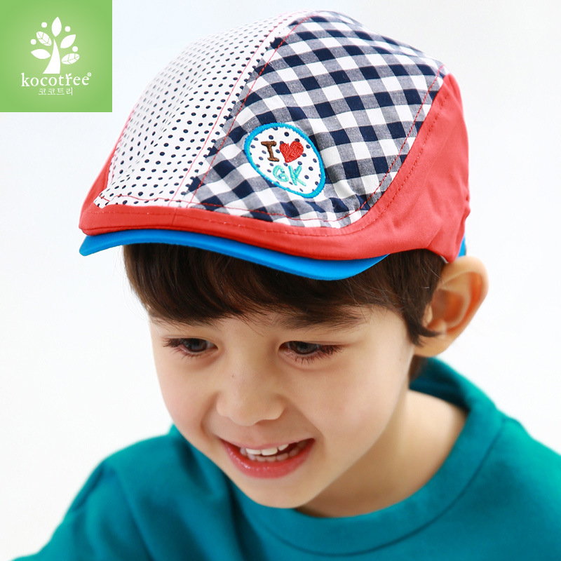 c7b5d1f761f The new korean children hat baby hat for men and women in spring and autumn  baby beret hat cover positronic 2-3-6