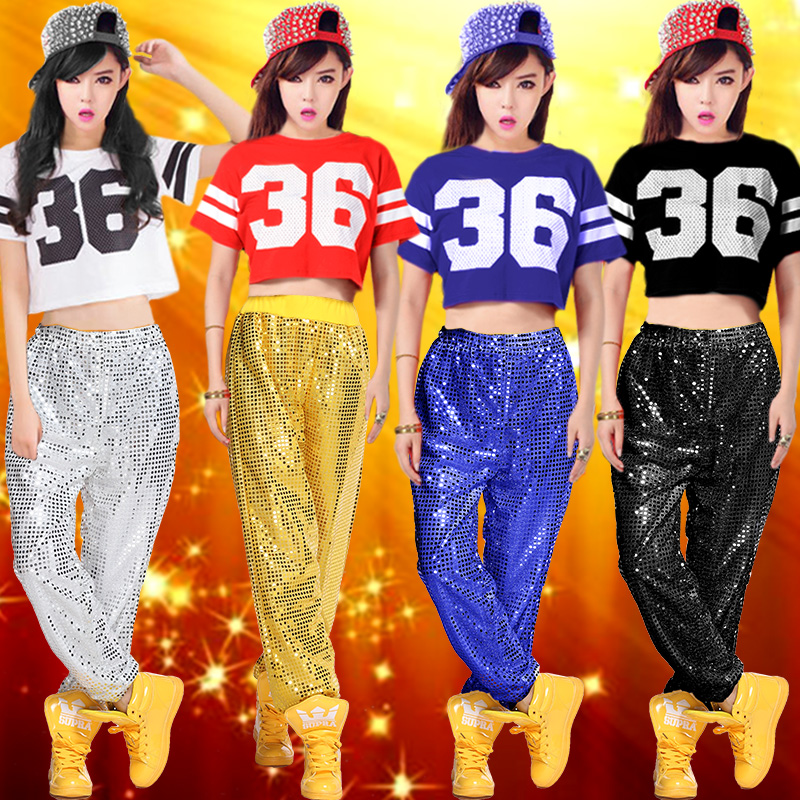 02f5e6e79eb Buy The New Modern And Stylish Dance Dance Jazz Dance Costume Costumes Hip-hop  Reggae Hiphop Laugh Ha Pants Short Sleeve In Cheap Price On M.alibaba.com  Sc ...
