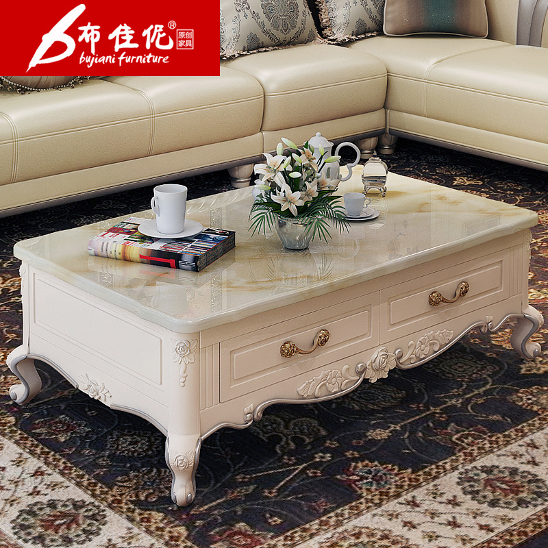 Buy Trinity Good Cloth Coffee Table White French Furniture French European Coffee  Table Marble Coffee Table Storage Length 803 In Cheap Price On M.alibaba.  ...