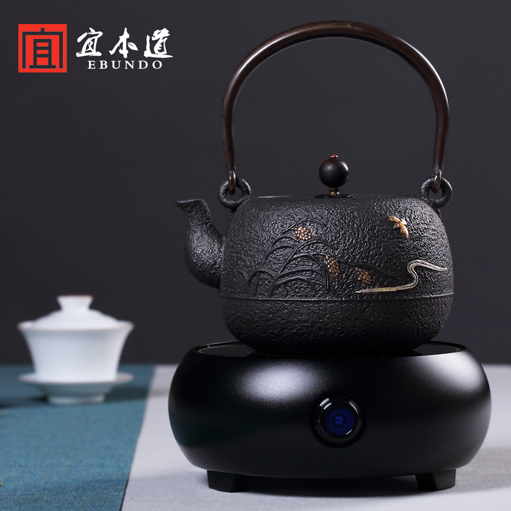 Uncoated Cast Iron Pot Old Kettle In Southern An Handmade Tea Electric Ceramic Stove Kung Fu Set Package Price On