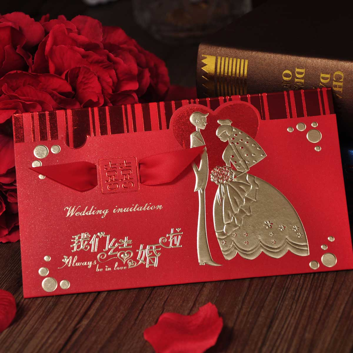 Buy Creative wedding supplies wedding invitations korean wedding ...