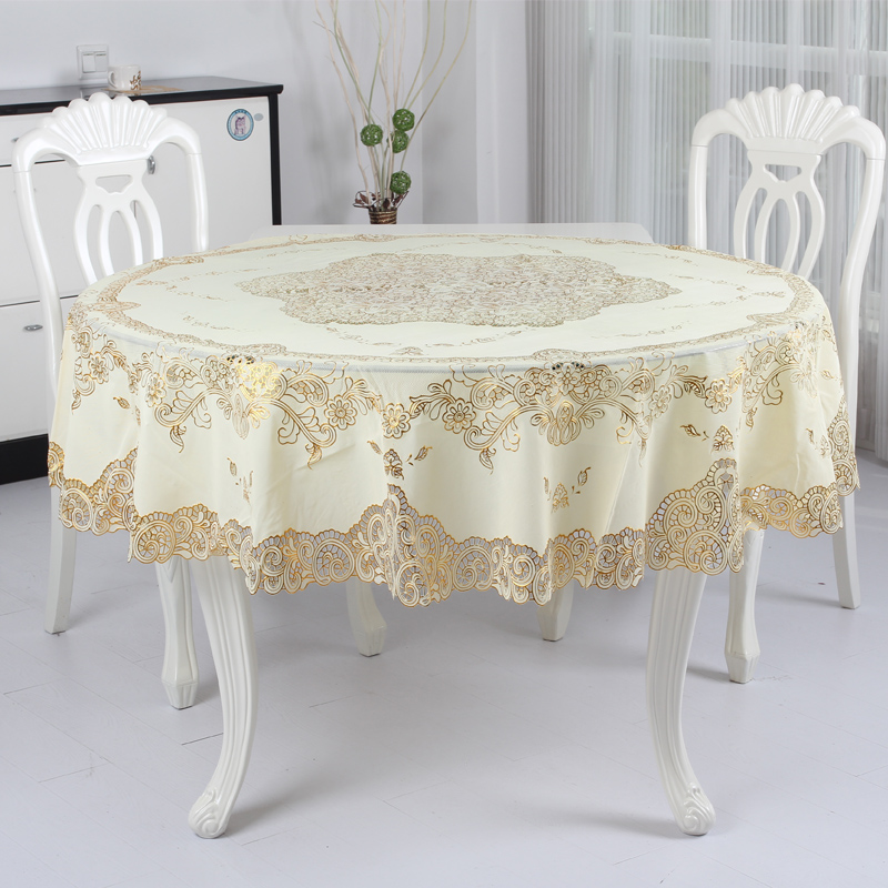 Wei Shu Home Pvc Waterproof Oil Disposable Tablecloth Round Coffee Table Lace In Price On