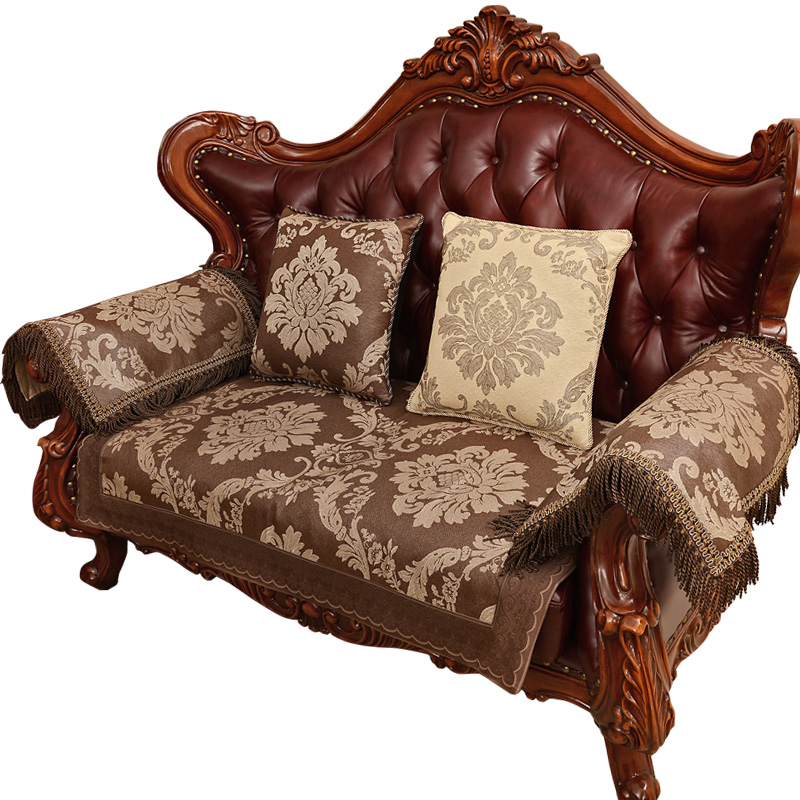 Buy Wie Jennifer European Luxury Leather Sofa Cushion Sofa Cushion Slip  Slipcover Sofa Cushion Pad Four Seasons Can Be Customized In Cheap Price On  ...