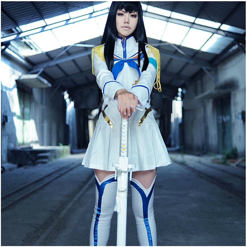 Women anime cosplay man hit double chop cut dress girl ghost dragon  hospital gao pole uniforms full set of clothing b5a3f7c3df