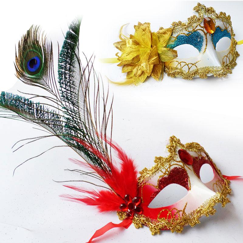 Buy Xi bao christmas halloween supplies masquerade venice peacock