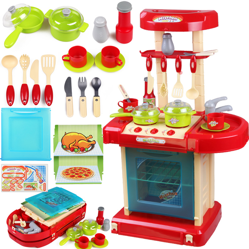 Buy Xiongcheng children play house playsets baby simulation kitchen ...