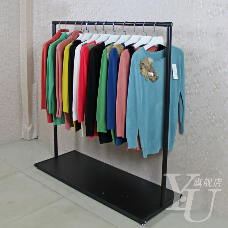 Buy Clothing store display racks clothing store rings hanger wire ...