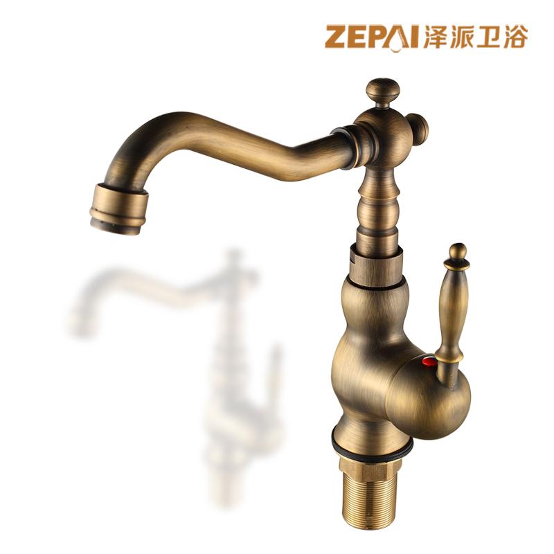 Buy Ze faction european gold antique copper shower suite full bath ...