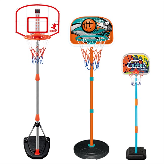 儿童篮球架宝宝投篮架可升降室内家用篮球框男孩婴儿1-2-3岁玩具/主图
